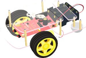 Robot Raspberry pi avec carte GoPiGo